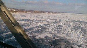 Frozen Wolga
