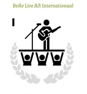 BFA Best Live Act Internationaal