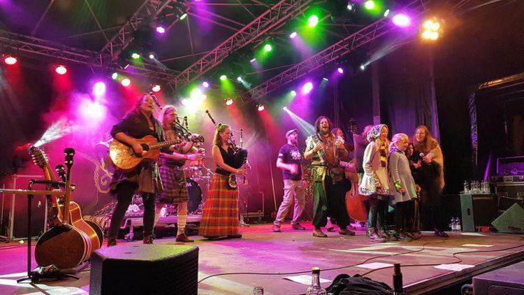 Harmony Glen on stage